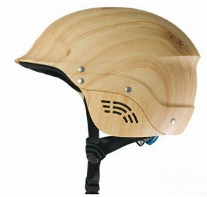 "Helmet from ""liquid wood"""