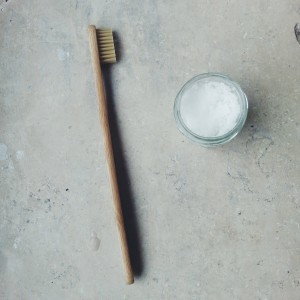Tootbrush and toothpaste