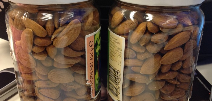 Almonds in bulk