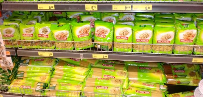 Plastic pasta