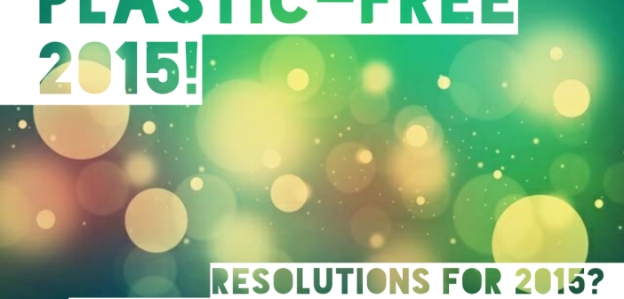 Plastic-Free New Year's resolutions from the Plastic-Free Tuesday Team!