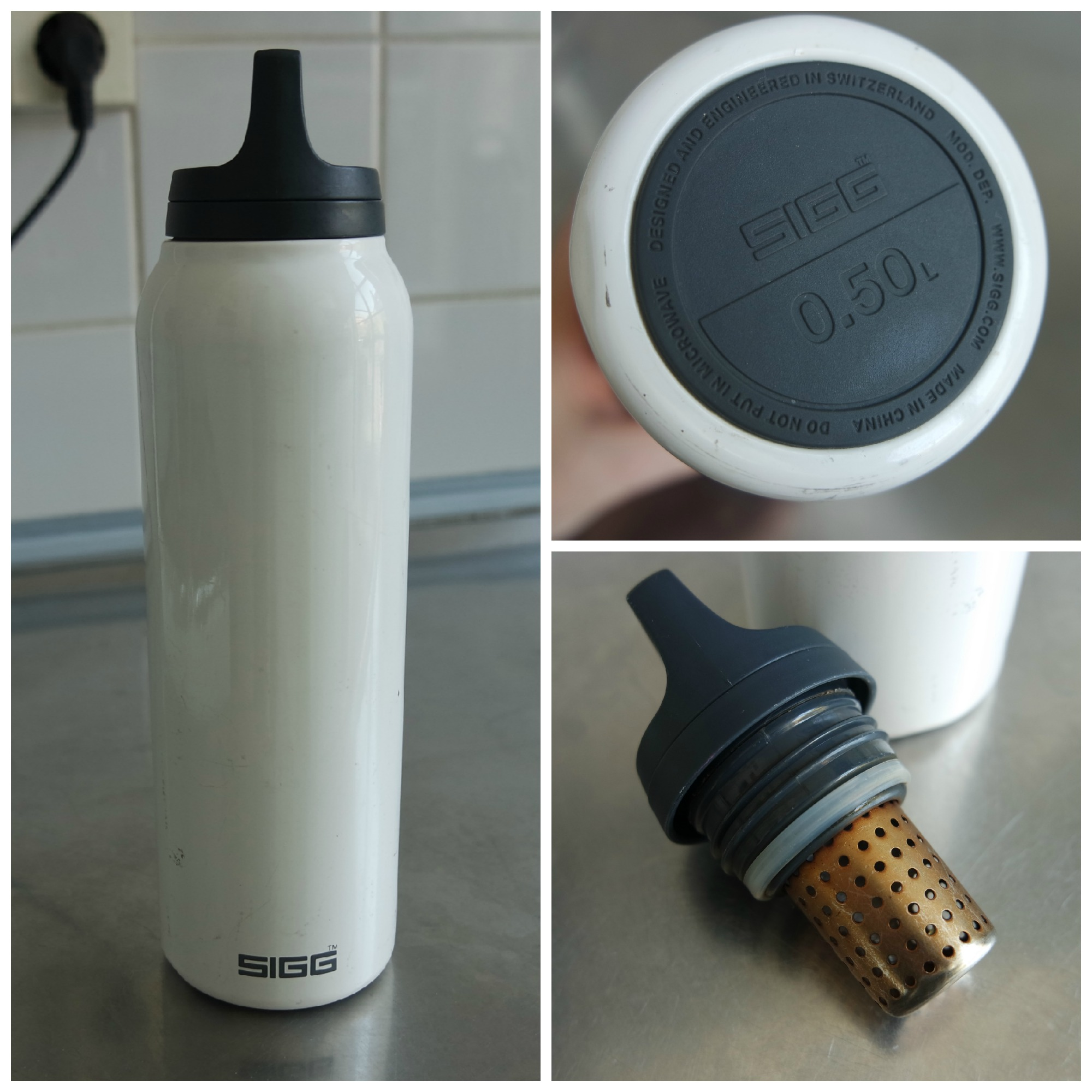 SIGG Hot & Cold mug 500 ml thermos classic with tea filter