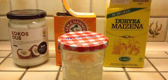 DIY deodorant experiment