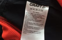 Polyester label running jacket